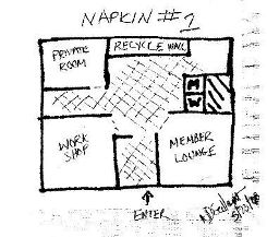 Vision of Space Layout - Napkin-Style