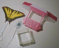 Here are some mini kites from one of Glenn's several kite sites!