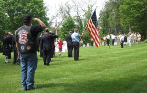 Photo I took at the Memorial Day 2011Parade & Ceremonies in Ipswich, Massachusetts, also known as the Birthplace of American Independence.